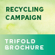 Recycling Campaign Flyers – 4 Options