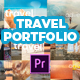 Modern and Fast Travel Portfolio - VideoHive Item for Sale