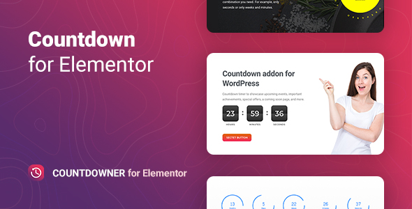 Download Countdowner – Countdown Timer for Elementor Free Nulled