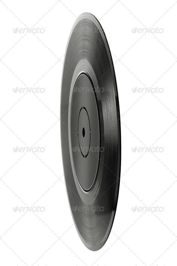 Vinyl Record - Stock Photo - Images