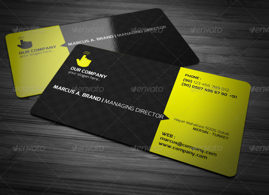 Rounded corner business card by 89pixel graphicriver for Business card rounded corners