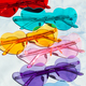 Colorful sunglasses in heart shapes - PhotoDune Item for Sale