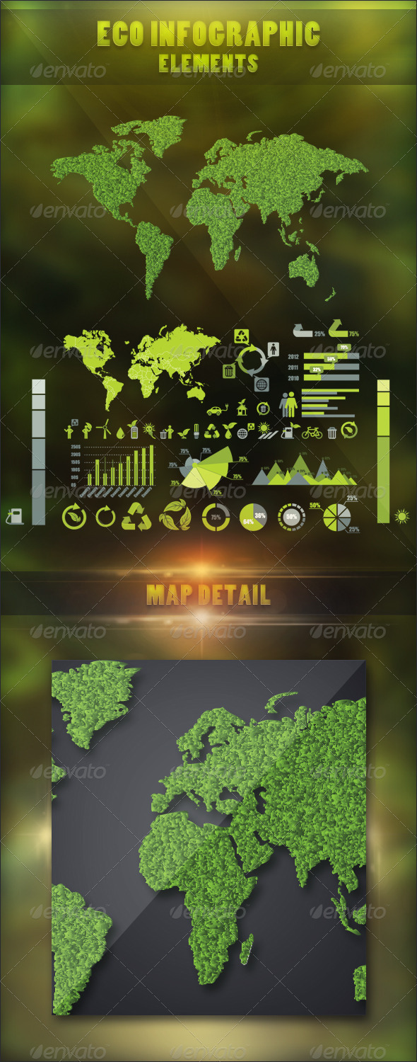 Eco Infographic Elements - Infographics