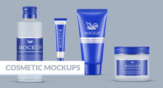 Cosmetic & Care Mock-Ups