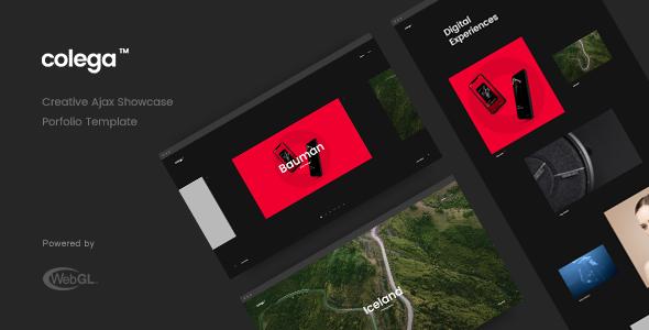 Special Colega - Creative Ajax Portfolio Showcase Slider Template