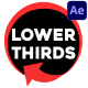 Subscribe Lower Thirds | After Effects - VideoHive Item for Sale