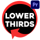 Subscribe Lower Thirds | Premiere Pro MOGRT - VideoHive Item for Sale