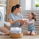 family doing laundry - PhotoDune Item for Sale