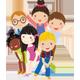 Cheerful Summer Mood Children