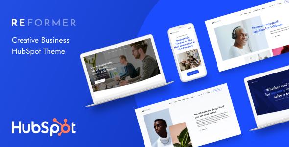 Reformer – Creative Business HubSpot Theme