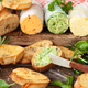 Herb butter with baguette - PhotoDune Item for Sale