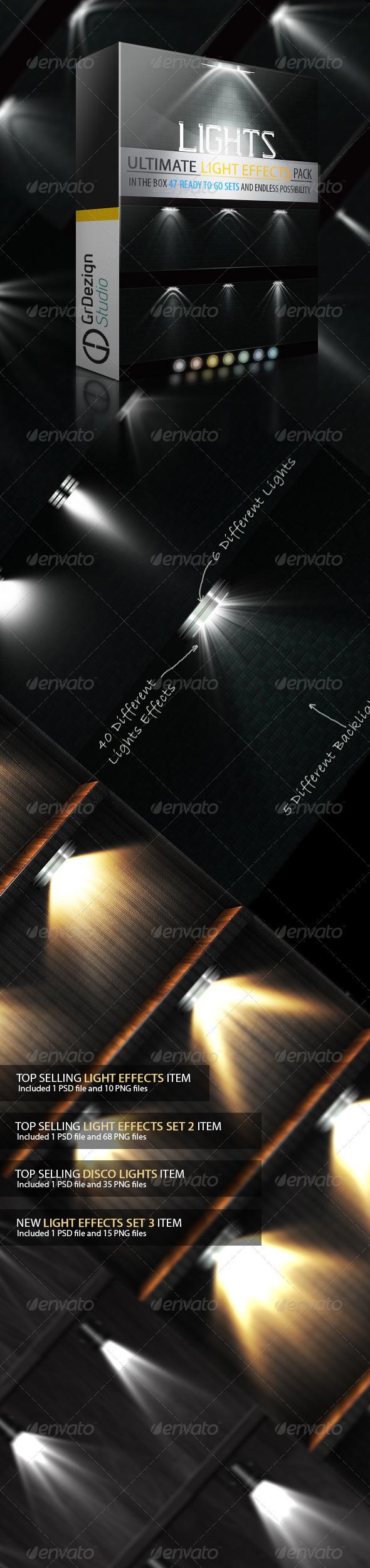 Light Effects Ultimate Bundle - Decorative Graphics