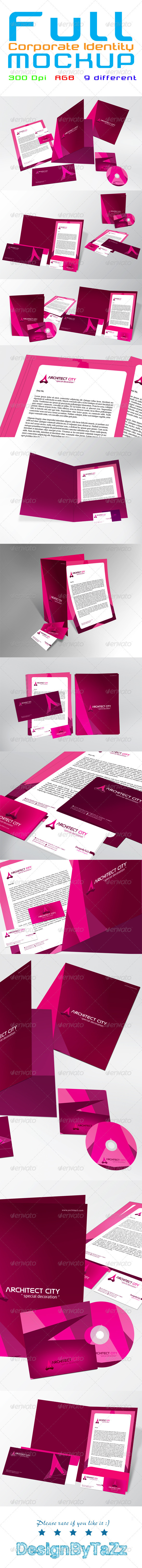 Full Corporate Identity Package - Stationery Print