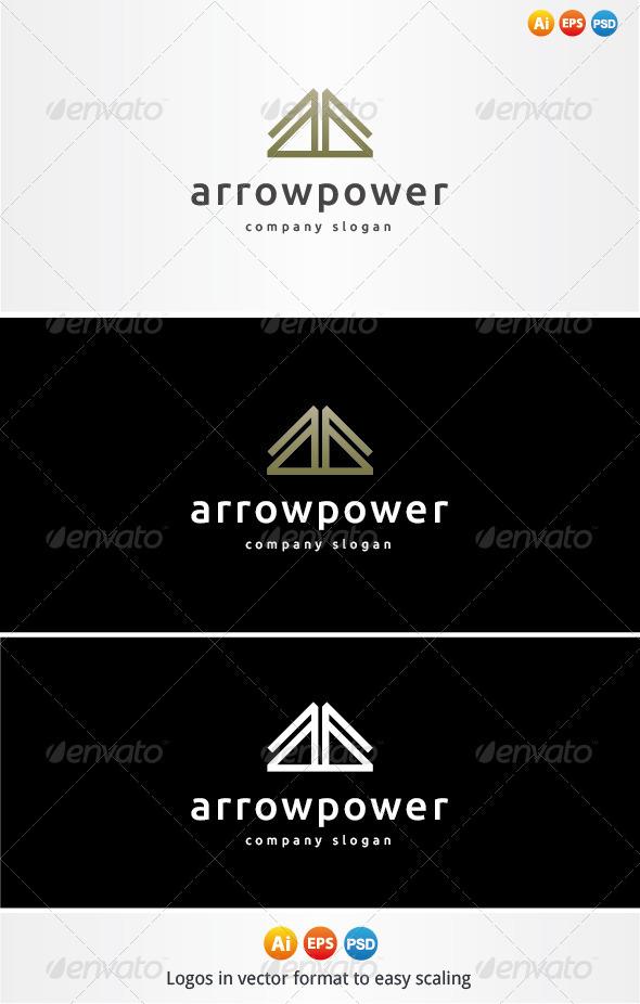Arrow Power Logo - Symbols Logo Templates