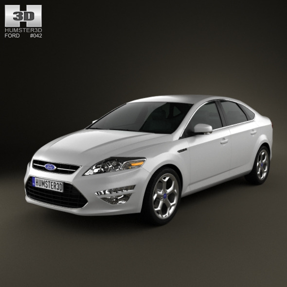 Ford Mondeo sedan Mk4 2011 - 3DOcean Item for Sale