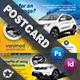 Car Maintenance Postcard Templates