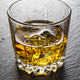 Whisky on the rocks on black slate - PhotoDune Item for Sale