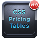 CSS Responsive Pricing Tables Mega Pack - CodeCanyon Item for Sale