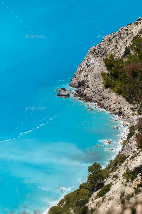 Ionian Sea Greece - Stock Photo - Images