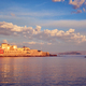 Picturesque old port of Chania, Crete island. Greece - PhotoDune Item for Sale