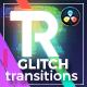 Glitch Transitions for DaVinci Resolve - VideoHive Item for Sale