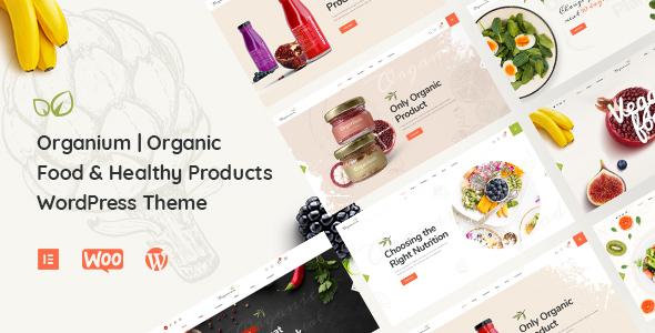 Organium | Organic Food Products WordPress Theme