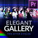 Elegant Photo Gallery - Premiere Pro | Mogrt - VideoHive Item for Sale