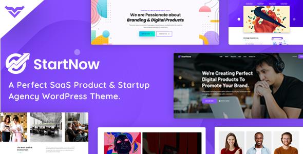 StartNow - Product & Agency WordPress Theme