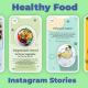 Healthy Food Instagram Stories - VideoHive Item for Sale