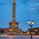 The famous Victory Column in Berlin at dusk - PhotoDune Item for Sale