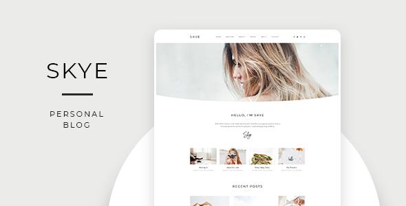 Skye – Modern Blog HubSpot Theme