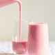 Strawberry Milkshake Pouring in the Glass. - PhotoDune Item for Sale