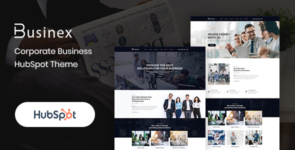 Businex – Corporate HubSpot Theme