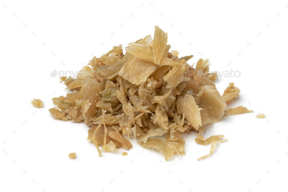 Heap of Chinese fermented cabbage isolated on white background background - Stock Photo - Images