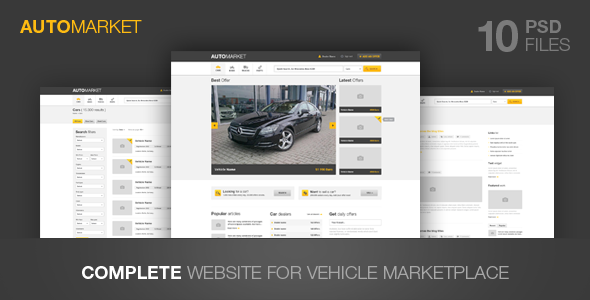 AutoMarket – Vehicle Marketplace