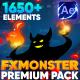 FX MONSTER - Premium Pack [1650+ 2D FX Elements]
