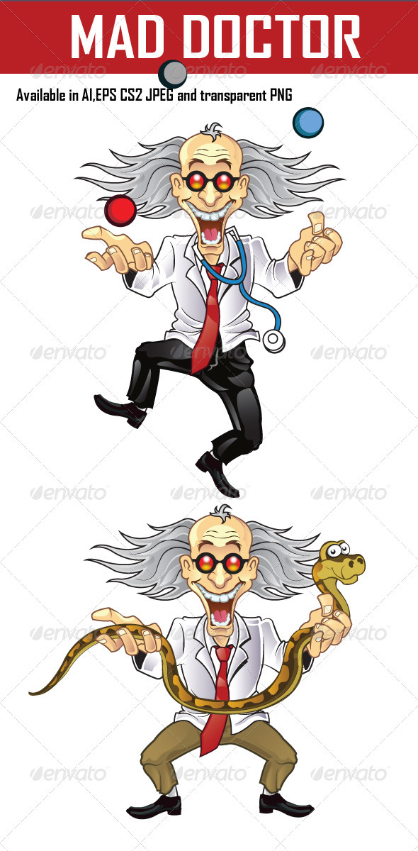 Mad Doctor - People Characters