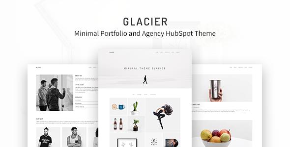 Glacier – Minimal Portfolio and Agency HubSpot Theme