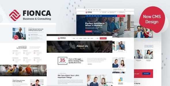 Fionca – Business & Finance HubSpot Theme