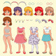 Female avatar. - GraphicRiver Item for Sale