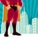 Superhero City - GraphicRiver Item for Sale