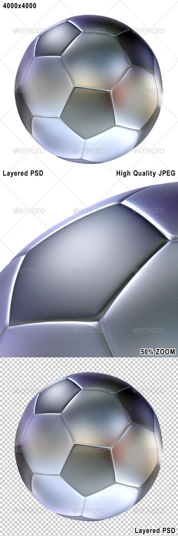Stylized Soccer Football - Objects 3D Renders