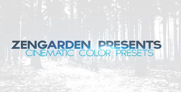 Mega Cinematic Color Presets Pack
