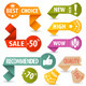 Collect Shopping Signs - GraphicRiver Item for Sale