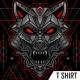 Geometry GreyWolf T-Shirt