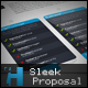 Sleek Proposal - Professional Proposal Template - GraphicRiver Item for Sale