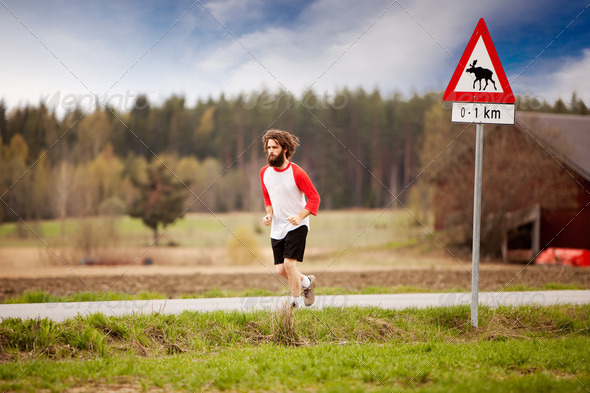 Retro Runner - Stock Photo - Images