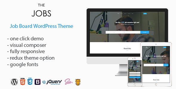 Nice TheJobs - Job Board WordPress Theme