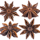 Star anise spice isolated on white - PhotoDune Item for Sale