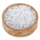 Sea salt in bowl isolated on white background - PhotoDune Item for Sale